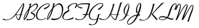 LDWedding Font UPPERCASE