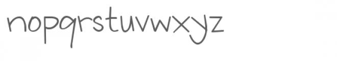 ld fundamental Font LOWERCASE