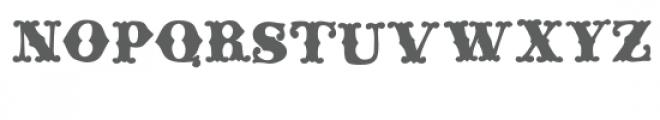 ld rococo bold Font UPPERCASE
