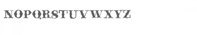 ld rococo Font UPPERCASE