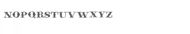 ld rococo Font LOWERCASE