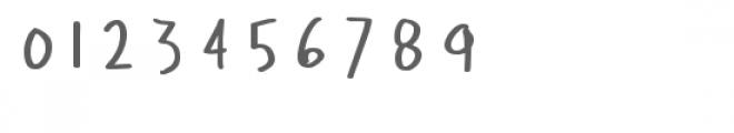 ld teacher's hand Font OTHER CHARS