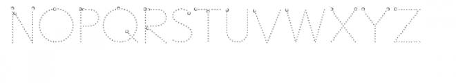 ld trainer vertical dots Font UPPERCASE