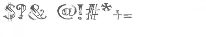 ld tribal tat Font OTHER CHARS