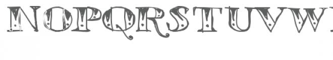 ld tribal tat Font UPPERCASE
