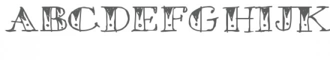 ld tribal tat Font LOWERCASE