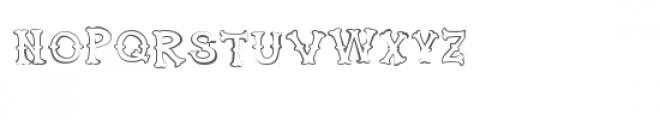 ldj huckleberry stroked Font LOWERCASE