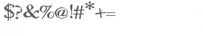 ldj oh no bobobold Font OTHER CHARS
