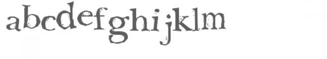 ldj oh no bobobold Font LOWERCASE