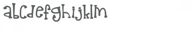 ldj shake up and down Font LOWERCASE