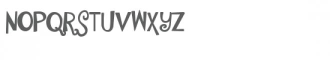ldj shortbread hand heavy Font UPPERCASE