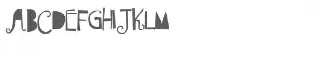 ldj shortbread solid Font UPPERCASE