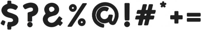 LEIXO Bold otf (700) Font OTHER CHARS