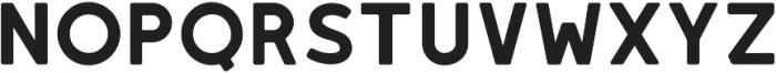 LEIXO Bold otf (700) Font LOWERCASE