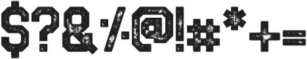 LEOBRONX otf (400) Font OTHER CHARS