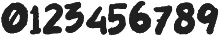 LES NOIR Regular otf (400) Font OTHER CHARS