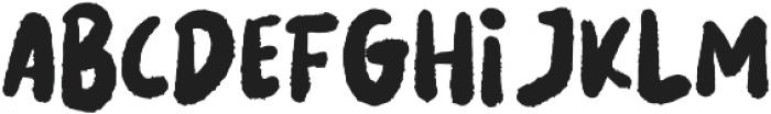 LES NOIR Regular otf (400) Font UPPERCASE