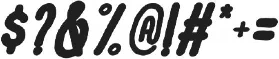 Le Havre City Bold Oblique otf (700) Font OTHER CHARS