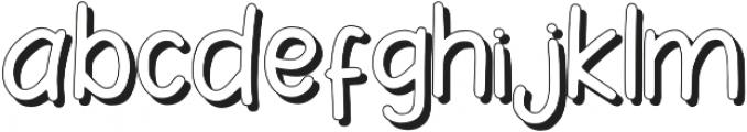 Le Petit Shadow otf (400) Font LOWERCASE
