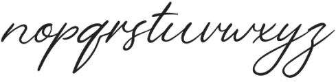 LeJardin Floral otf (400) Font LOWERCASE