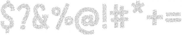 LeOsler Sprinkles Regular ttf (400) Font OTHER CHARS