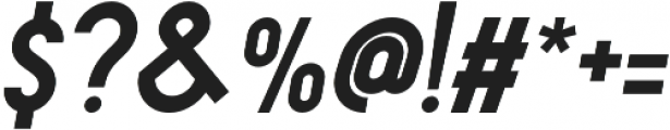 Leaderson Smooth Italic otf (400) Font OTHER CHARS