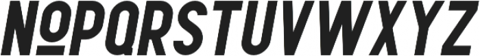 Leaderson Smooth Italic otf (400) Font UPPERCASE