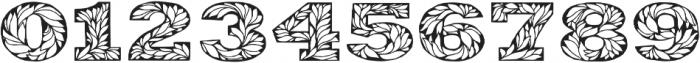 Leaffy otf (400) Font OTHER CHARS