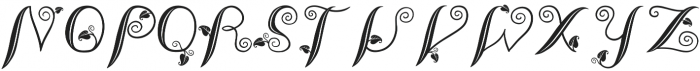 LeafyTales otf (300) Font LOWERCASE