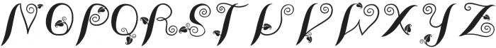 LeafyTales otf (400) Font UPPERCASE