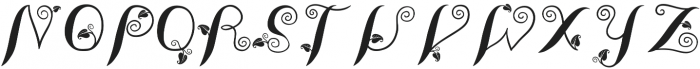 LeafyTales otf (400) Font LOWERCASE