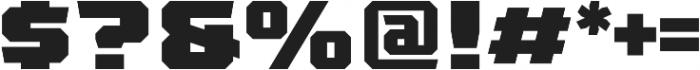 League 250 Black otf (900) Font OTHER CHARS