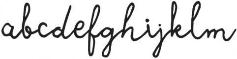 Leah Gaviota Script otf (400) Font LOWERCASE