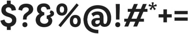LeanOSans FY otf (700) Font OTHER CHARS