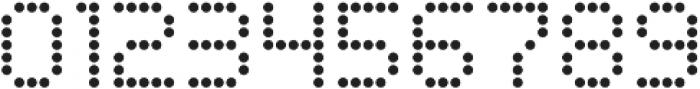 Led Regular Regular otf (400) Font OTHER CHARS