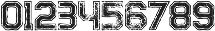 Legacy Outline Bold Grunge otf (700) Font OTHER CHARS
