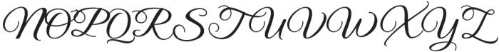 Legacy otf (400) Font UPPERCASE