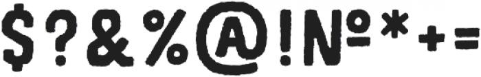 Legend Sans Serif Regular otf (400) Font OTHER CHARS