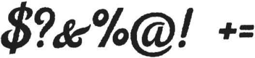 Legend Script Regular otf (400) Font OTHER CHARS