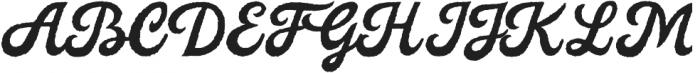 Legend Script Regular otf (400) Font UPPERCASE
