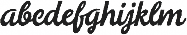 Legend Script Regular otf (400) Font LOWERCASE