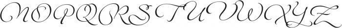 Legendaria OT otf (400) Font UPPERCASE