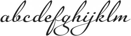 Legendaria OT otf (400) Font LOWERCASE