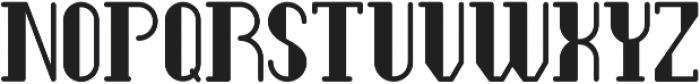 Legendary Bold Full ttf (700) Font UPPERCASE