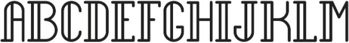 Legendary Bold ttf (700) Font UPPERCASE