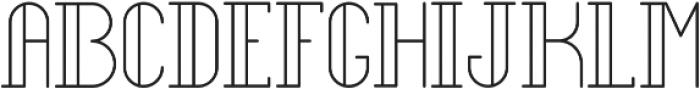 Legendary Light ttf (300) Font UPPERCASE