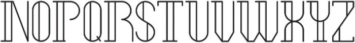 Legendary Light ttf (300) Font LOWERCASE