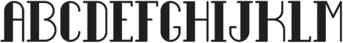 Legendary Regular Full ttf (400) Font UPPERCASE