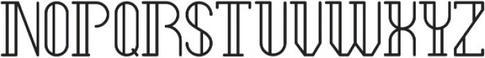 Legendary Regular ttf (400) Font UPPERCASE