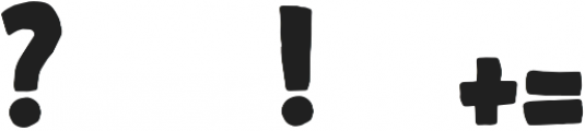 Legittimo Black otf (900) Font OTHER CHARS